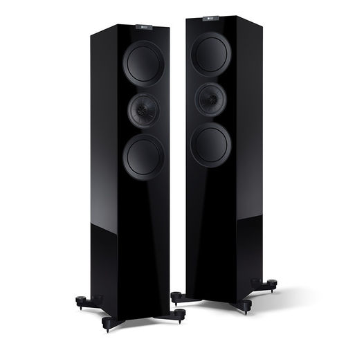 KEF R700 lattiakaiutinpari, Black edition