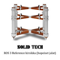 Solid Tech ROS 3 Reference hopeiset jalat