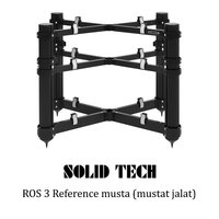 Solid Tech ROS 3 Reference mustat jalat