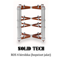Solid Tech ROS 4 hopeiset jalat