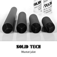 Solid Tech Radius Duo 3 mustat jalat