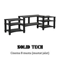 Solid Tech Radius Cinema 8 mustat jalat