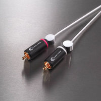 Crystal Cable Connect Reference 2RCA-2RCA.
