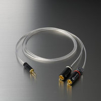 Crystal Cable Connect Piccolo 3.5mm-2RCA.