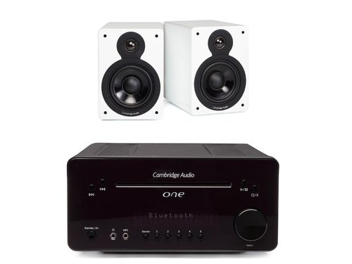 Cambridge Audio One + Minx XL kaiuttimet