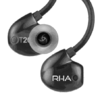 RHA T20i Black in-ear-kuulokkeet.