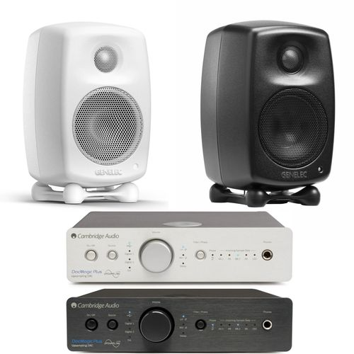 Genelec G One pari + Cambridge Dacmagic Plus