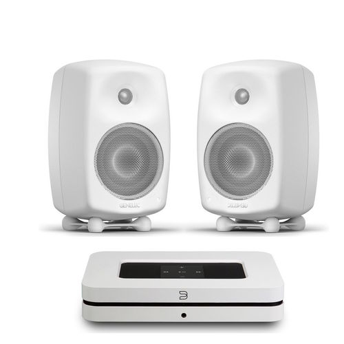 Bluesound NODE 2i + Genelec G Three pari