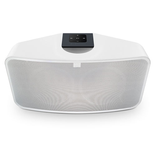 Bluesound PULSE MINI 2i valkoinen messudemo